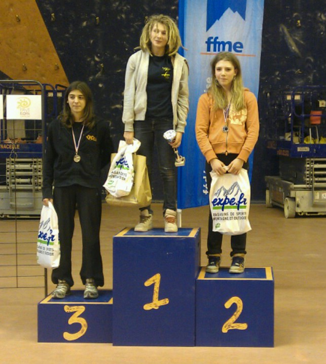 Bravo! Marie seconde en Coupe de France